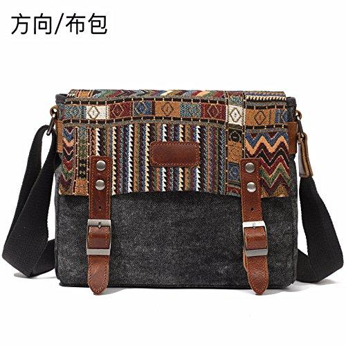 Sac direction noir sac vent bandoulière sac 24cm National d'épaule vintage à 10cm diagonale Vintage 30cm débit atzrwZtq