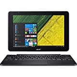 Acer NT.LCQAA.004 10.1 One 10 S1003-15NJ Touchscreen LCD 2 in 1 Notebook Intel Atom x5 x5-Z8350 Quad-core 1.44GHz 2GB DDR3L SDRAM 64GB Flash Memory Windows 10 Home 32-bit Shale Black