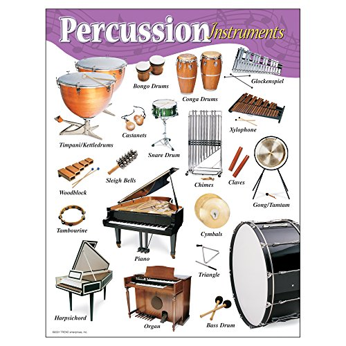 Instruments Learning Chart - Trend Enterprises Inc. Percussion Instruments Learning Chart, 17