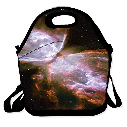 Lunch Bag for Boys Girls Kids Women Insulated Thick Lunch Tote Bags with Shoulder Strap Lunchbox Handbag Food Bento Boxes Container for Work School-Space Nebula