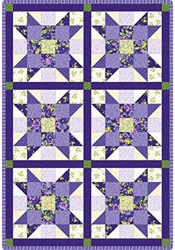 Debbie Beaves Emma's Garden Sister's Choice Pod Quilt Kit Maywood Studio