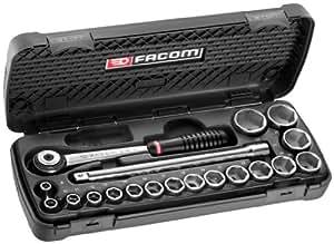 Facom S.161.6PG - Estuche de llaves de vaso, trinquete y accesorios