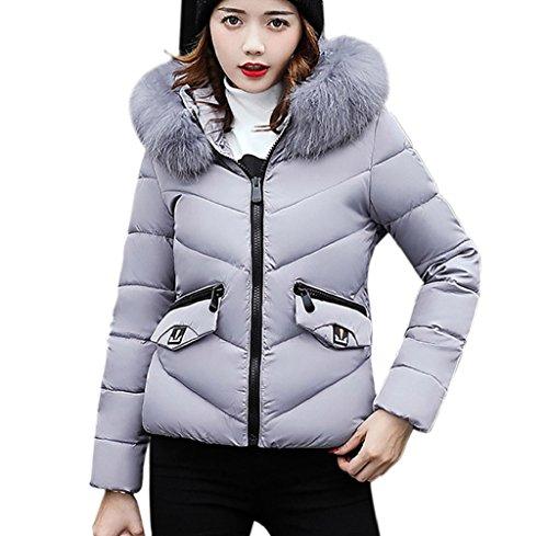 Escudo invierno mujeres abrigo abrigo Gris deletrean color chaqueta de Internet engrosamiento Las ocio delgado abajo rqSwxtrdz