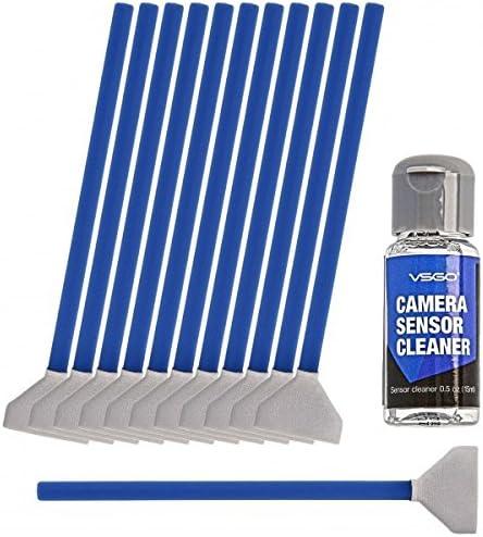 10pcs//set 1mm//16mm//24mm Wet Sensor Cleaning Kit CMOS CCD Cleaner Swab Came*jg