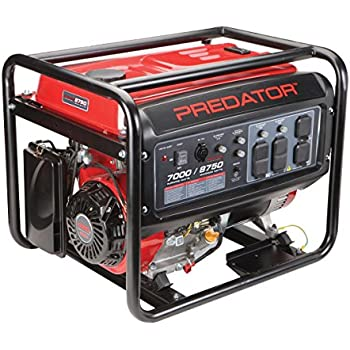 amazoncom predator portable generator  peak running watts  generator wheel kit