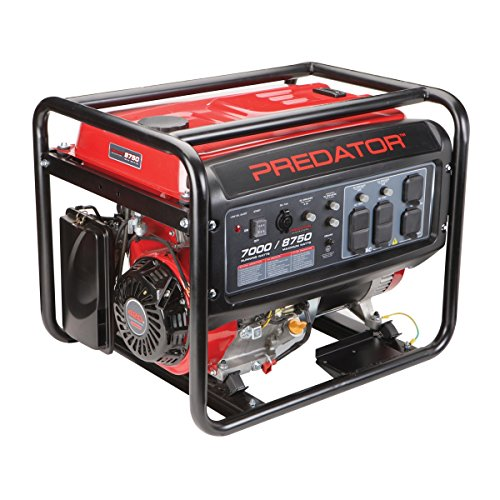 Predator Portable Generator 8750 Peak/7000 Running Watts And Generator Wheel Kit