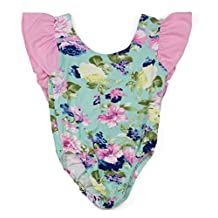 Wholesale Princess Infant Bodysuit with Ruffled Cap Sleeves