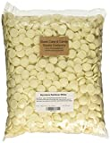 Oasis Supply Mercken's Chocolate Wafters Candy Making Supplies, White, 10 Pound