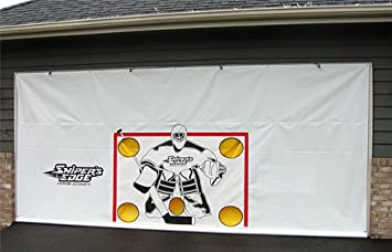 Garage Door Hockey Shooting Target