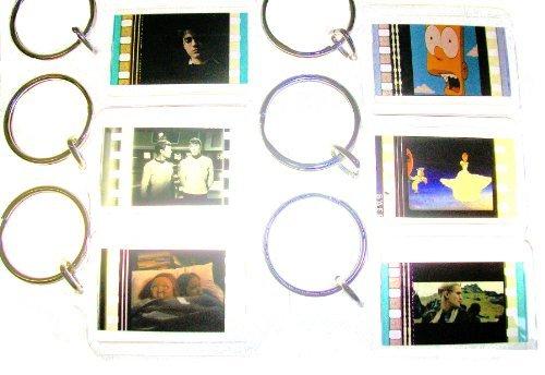 SPONGEBOB SQUAREPANTS animation 35mm Film Cell Keychain Movie Memorabilia Col.