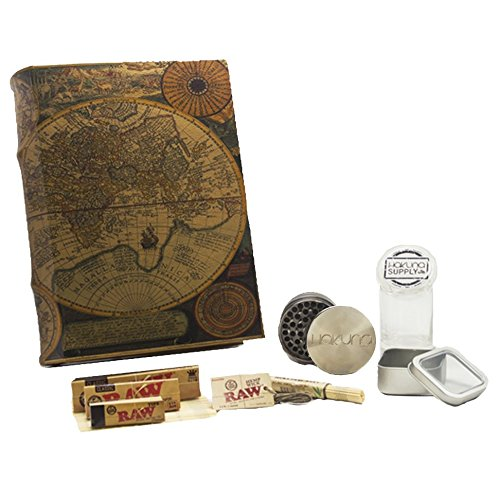 XL-Leather-Atlas-Book-Box-Bundle-RAW-Accessory-Bundle-Stash-Box-Storage-Box
