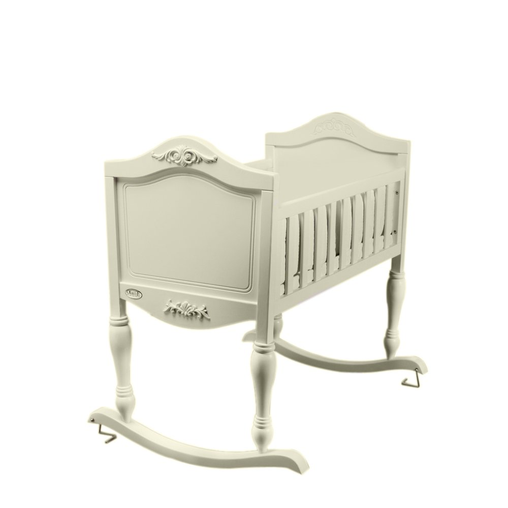 40 in. Wooden Toddler Cradle Orbelle Trading Co. 1298-8000FW-GAGA