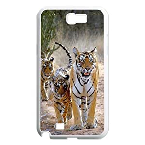 High Quality Phone Back Case Pattern Design 18Animal Tiger Pattern- For Samsung Galaxy Note 2 Case