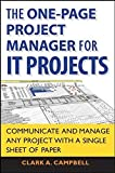 The One Page Project Manager for IT