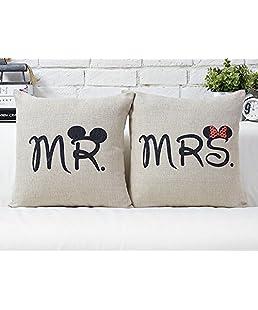 Amoy.B - Varietà di federe per cuscini, creative e alla moda, per divano, ufficio e auto C