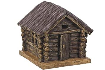 Miniatur Fairy Garden Tricks Dekoration Holzhütte Amazonde Küche