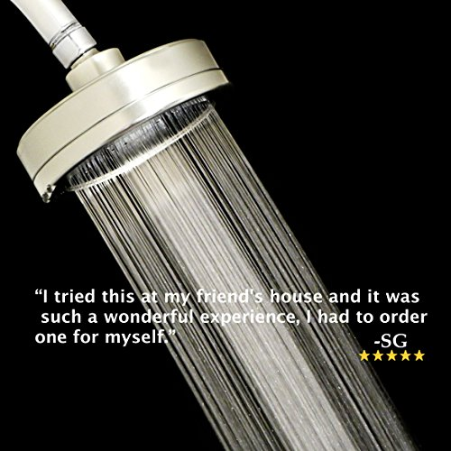 Shower Head With Filter All Metal Reduces Chlorine And