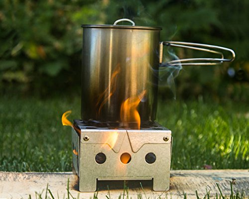 Portable Compact Backpack Camp Stove - Ideal for Camping