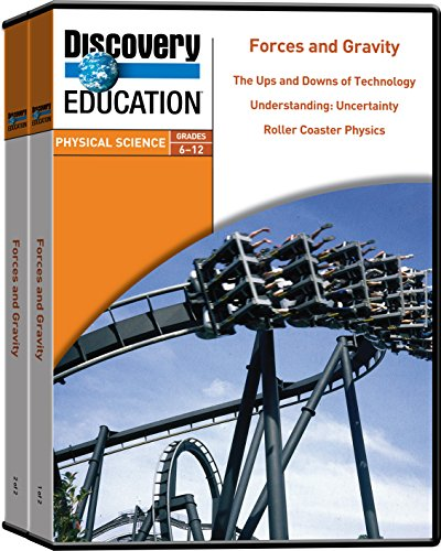 Discovery Education Forces And Gravity Dvd Set  Set Of 5