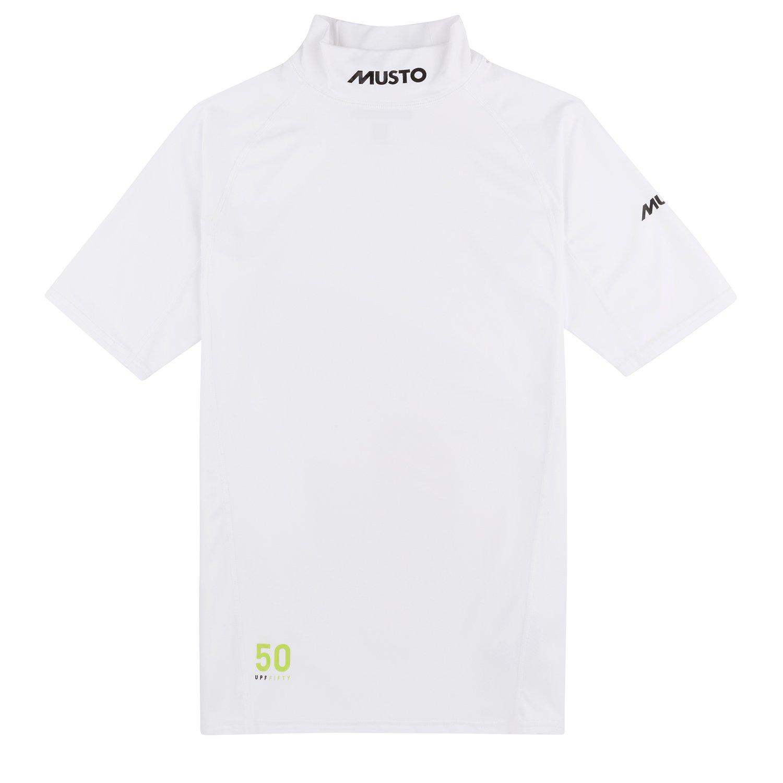 Musto Sunblock Short Sleeve Rash Guard 2019 White