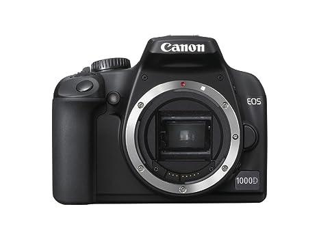 Canon EOS 1000D - Cámara Réflex Digital 10.1 MP (Cuerpo ...