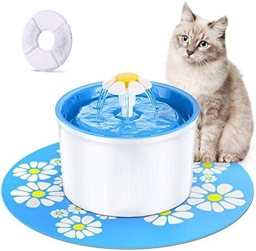 Bebedero chico para perros,gato,proporciona agua filtrada fresca para su mascota 2