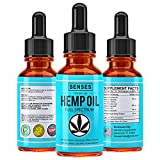 Full Spectrum Hemp Oil Drops – 450mg | Natural Relief for Chronic Pain, Anxiety, Reduces Stress, Anti-Inflammatory Extract, Organic Sleep Aid, No THC, W/Omega 3, 6 & 9 Oils – Made in USA | Mint Flavor Review