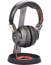 Avantree Soporte Auriculares HS102 - Universal Soporte Auriculares de Acero Sólido con Bandeja para apoyar Cables