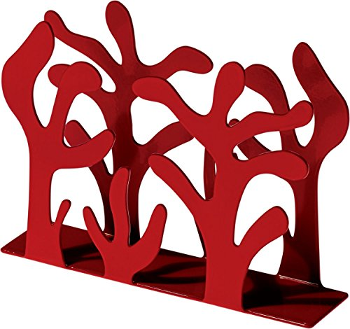 - Alessi Mediterraneo Napkin Holder, Red