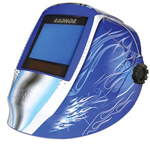 Radnor RDX81 Blue Welding Helmet 101 X 80 mm Variable Shade