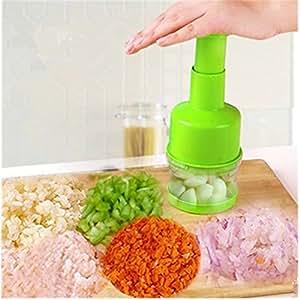 KAKA(TM) Multifunctional Hand Pressure Type Garlic Ginger Press Juicer Hand Presser Crusher Squeezer Slicer Masher Kitchen Tool£¨Color random delivery£©