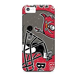 New LVo3069ueCf Tampa Bay Buccaneers Skin Case Cover Shatterproof Case For Iphone 5c