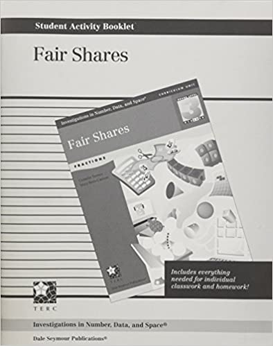 Read online INVESTIGATIONS GR 3 STUDENT ACTIVITY BOOKLET: FAIR SHARES PDF, azw (Kindle)