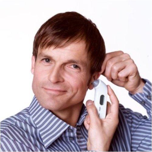 Braun 609256 - Termómetro de oído, color gris: Amazon.es: Salud y cuidado personal