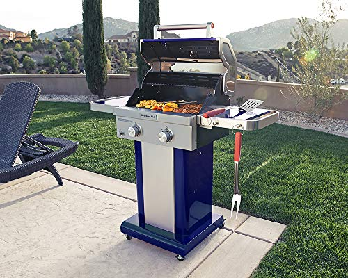 Kitchenaid 720 0891g Full Size Propane Gas Grill Blue