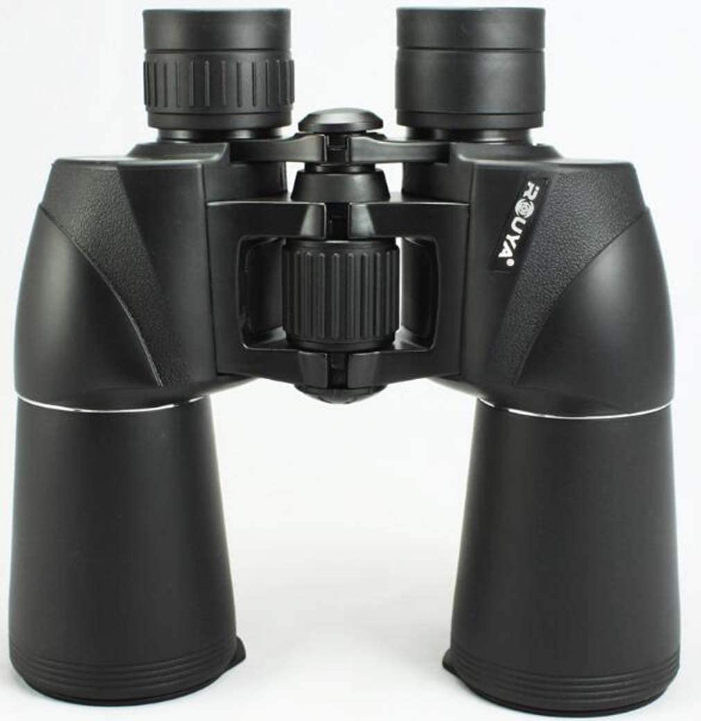 ZTYD Outdoor Binoculars, Super Large Eyepiece HD Low Light Night Vision BAK4 Telescope for Bird Watching Travel Stargazing Hunting Concerts Sports