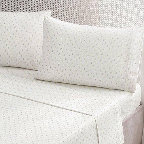 Brielle Fashion Cotton Jersey Sheet Set, King, Fleur De L...