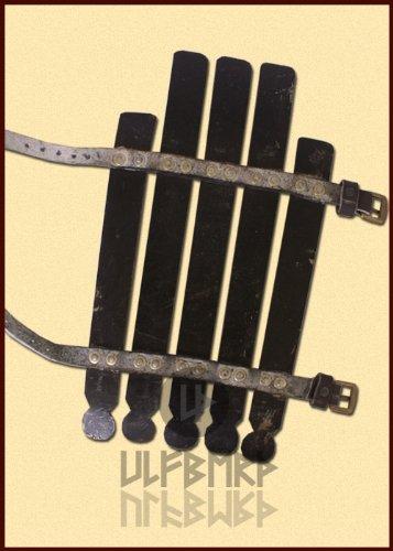 Ulfberth Wikinger Armschutz 2mm Stahl Schaukampf Armschoner Armsch/ützer