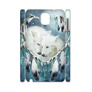 VNCASE Wolf Dream Catcher Phone Case For samsung galaxy note 3 N9000 [Pattern-6]