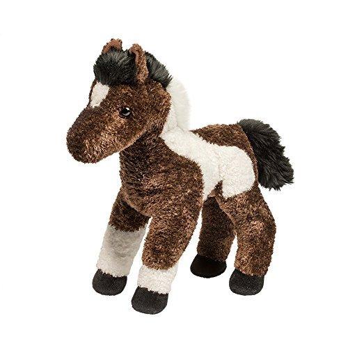 Floppy Horse Plush - Tempo the Indian Paint Horse 14