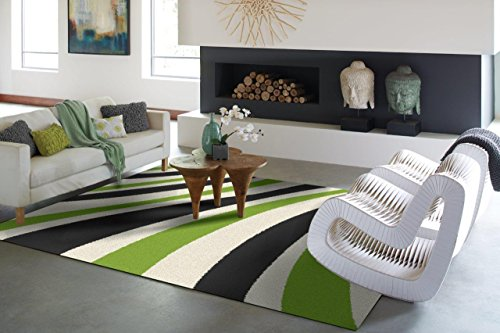 Modern White Green Gray Shaggy Rug For Bedroom 2 by 3 Washable Bathroom Rug Kitchen Rugs Shag Rug 2x4 Wave 2x3 Small Shag Rug Bedroom Foyer Enter Rugs