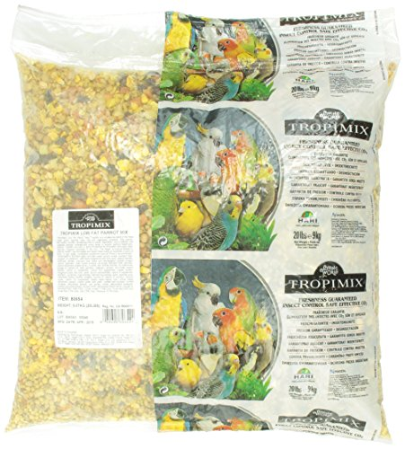 Tropimix Low Fat Parrot Bean Mix, 20-Pound by Hari