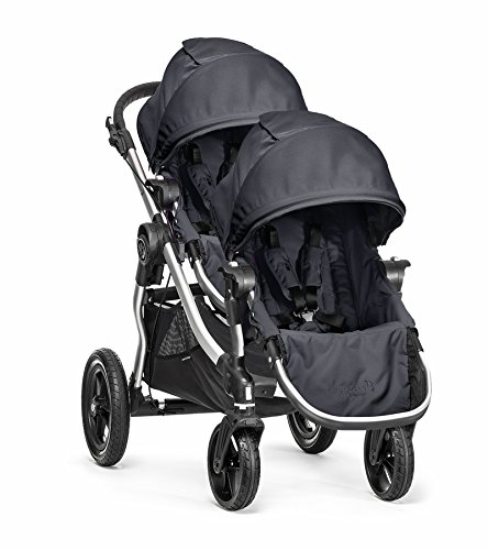 Baby Jogger City Select Double Stroller (Titanium)