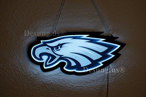 Desung.us Revolutionary Sports Union PE LED Neon Light Sign Design Decorate 3rd Generation Sign 17''x9'' LEA17M