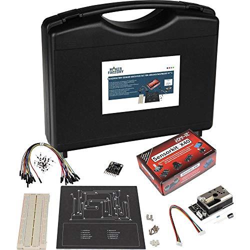 MAKERFACTORY Sensor Education Raspberry/Arduino Incl. opbergkoffer, Incl. breadboard, Incl. sensoren