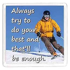 Ajooba Dubai Motivation Magnet 7659