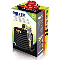RELTEX 50 ft Expandable Garden Hose - Water Hose with...