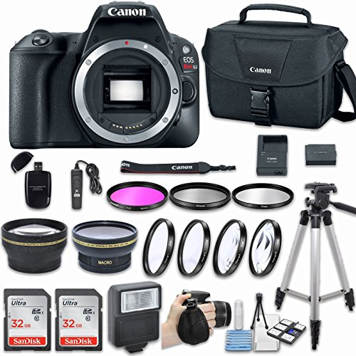 Canon EOS Rebel SL2 DSLR Camera  with Bundle - Includes 58mm
