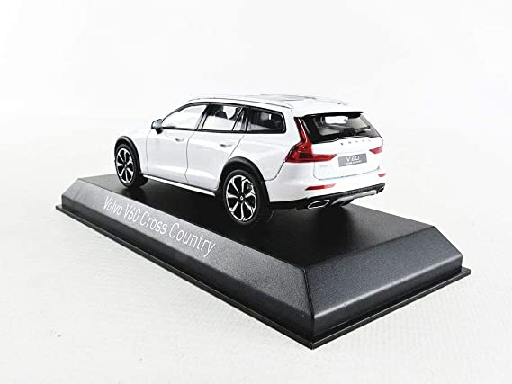 Norev 870026 Compatible With Volvo V60 Cross Country White 2019 Scale 1 43 Model Car Spielzeug