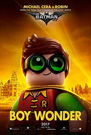 Amazon.com: The Lego Batman Movie POSTER 11 x 17 Jenny Slate ...